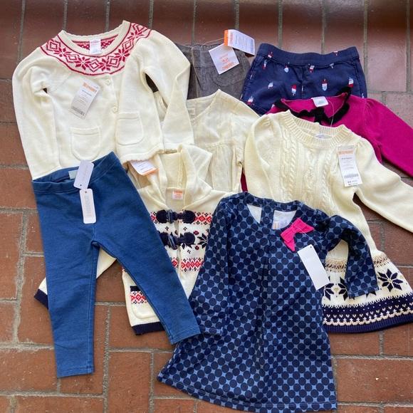 Gymboree Bundle of Baby Girl's clothes